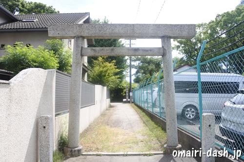 築地神社(名古屋市港区)西鳥居