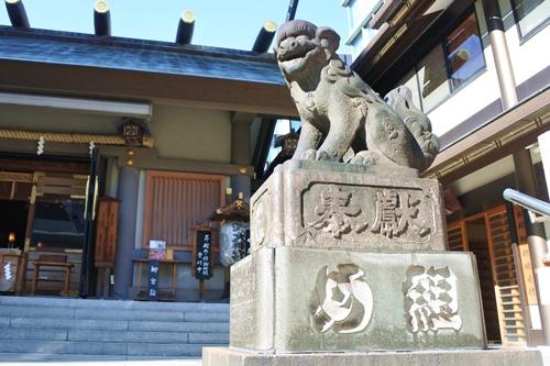 芝大神宮(東京都港区)狛犬(め組)
