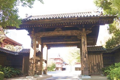 増上寺(東京都港区)黒門
