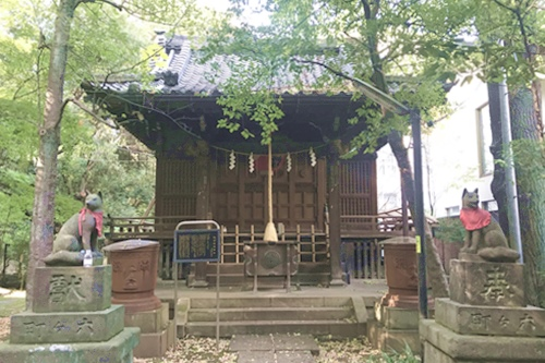 赤坂氷川神社(東京都港区)四合稲荷