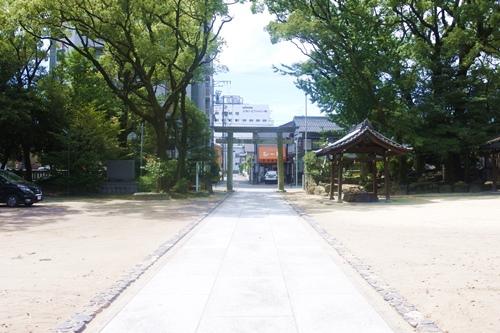 築地神社(名古屋市港区)境内