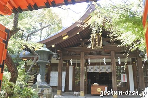 愛宕神社(東京都港区)拝殿