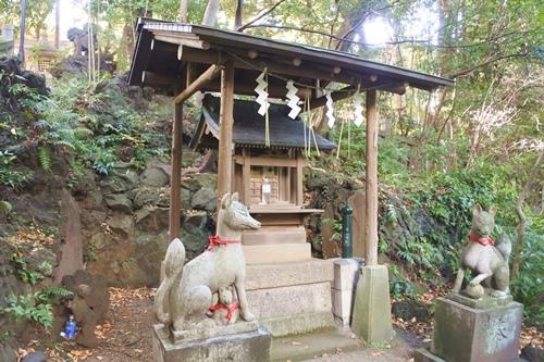 赤坂氷川神社(東京都港区)西行稲荷