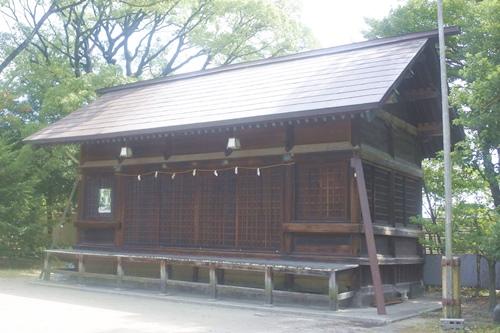 築地神社(名古屋市港区)斎機殿