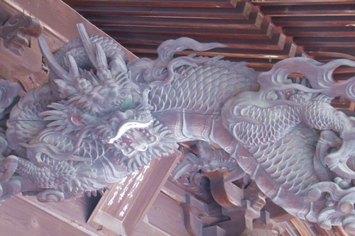 内々神社(愛知県春日井市)拝殿彫刻