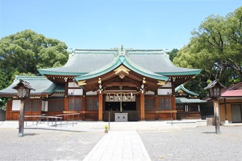 川原神社(名古屋市昭和区)拝殿