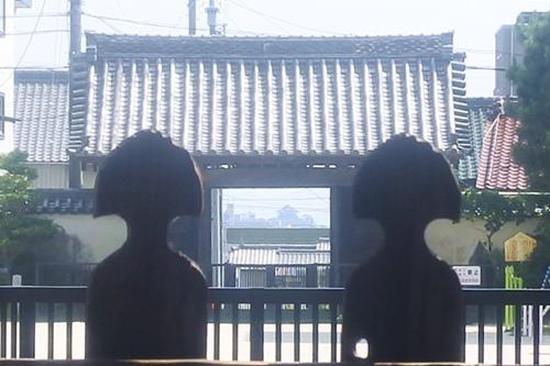 ビスタライン(大樹寺から岡崎城を望む)
