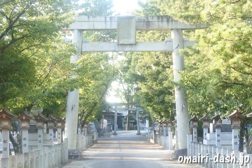 本刈谷神社(愛知県刈谷市)正面鳥居