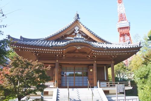 増上寺(東京都港区)圓光大師堂
