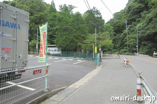 内々神社(愛知県春日井市)駐車場