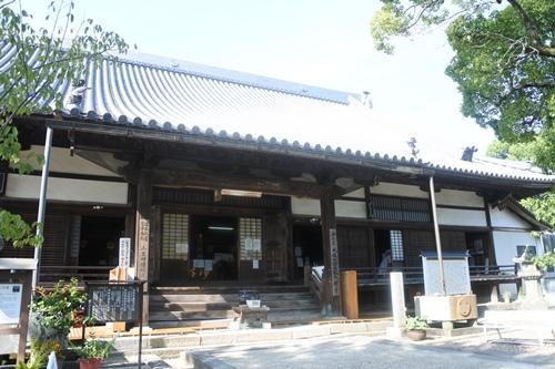 大樹寺(愛知県岡崎市)本堂(市指定文化財)