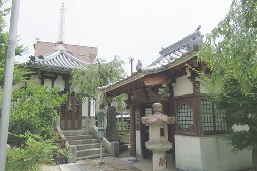 総持寺(愛知県知立市)六角堂(愛染堂)・観音堂