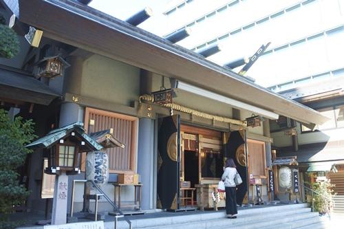芝大神宮(東京都港区)拝殿