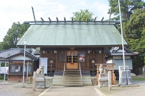 能見神明宮(愛知県岡崎市)拝殿