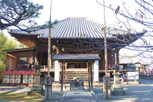 三明寺(豊川市)本堂(愛知県指定文化財)