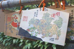 赤坂氷川神社(東京都港区)絵馬