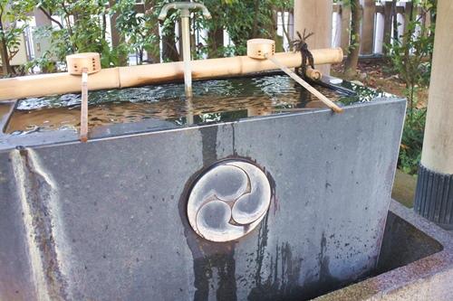 芝大神宮(東京都港区)手水舎