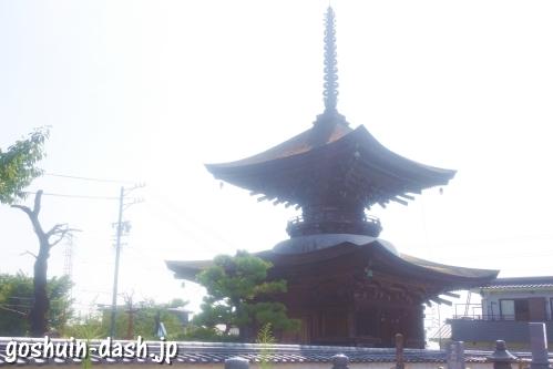 大樹寺(愛知県岡崎市)多宝塔(国指定重要文化財)
