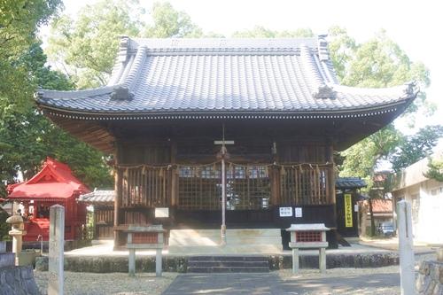 鴨田天満宮(愛知県岡崎市)拝殿