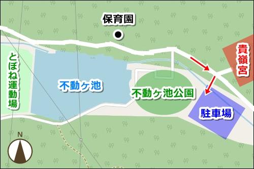 山蔭神道貴嶺宮(愛知県額田郡幸田町)駐車場マップ
