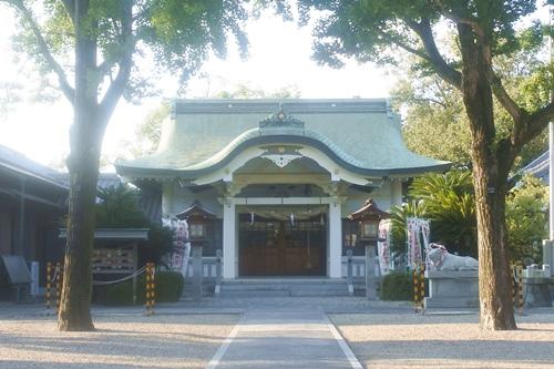 本刈谷神社(愛知県刈谷市)拝殿