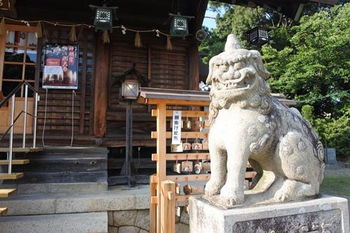 能見神明宮(愛知県岡崎市)狛犬