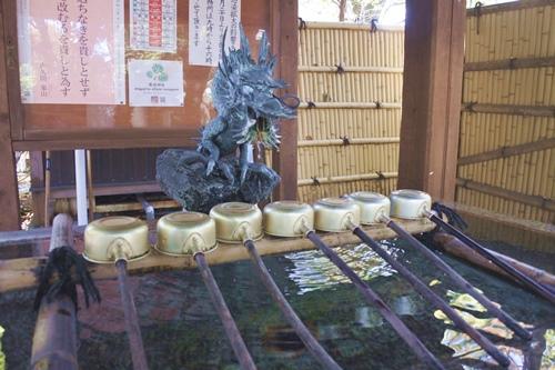 愛宕神社(東京都港区)手水舎