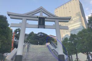 日枝神社(東京都千代田区)エスカレーター(山王橋)