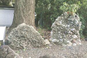 赤坂日枝神社(東京都千代田区)さざれ石