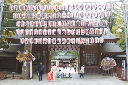 大國魂神社(東京都府中市)随神門