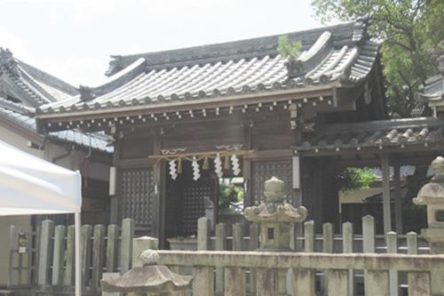 秋葉社(刈谷市銀座)拝殿