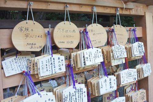 乃木神社(東京都港区)乃木坂46奉納絵馬
