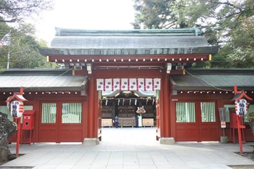 大國魂神社(東京都府中市)中雀門
