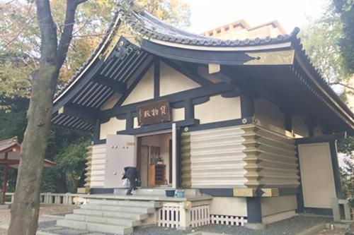 赤坂日枝神社(東京都千代田区)宝物殿