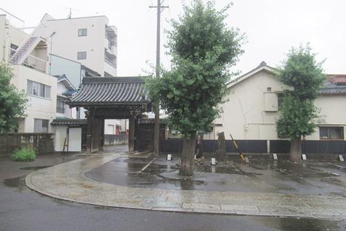 長栄寺(名古屋市中区)駐車場