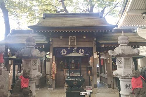 豊川稲荷東京別院(東京都港区)三神殿(宇賀親王・太郎稲荷・徳七郎稲荷)