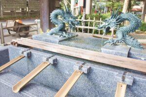 大國魂神社(東京都府中市)手水舎