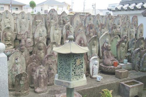 松秀寺(愛知県刈谷市)石仏群(写し霊場?)