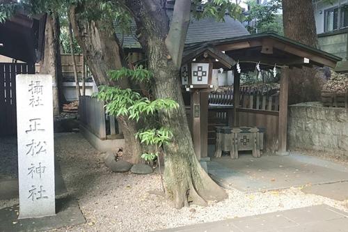 乃木神社(東京都港区)正松神社
