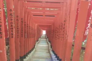 日枝神社(東京都千代田区)稲荷参道(千本鳥居)