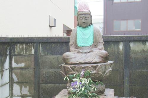 長栄寺(名古屋市中区)石像