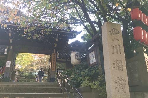 豊川稲荷東京別院(東京都港区)山門