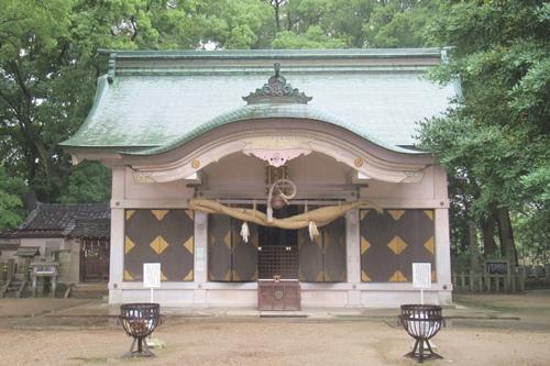 岩塚七所社(名古屋市中村区)祭文殿(拝殿)