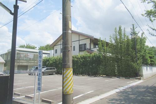 松秀寺(愛知県刈谷市)参拝者駐車場