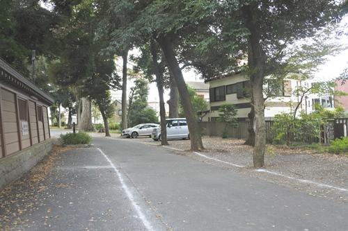 大國魂神社(東京都府中市)参拝者無料駐車場