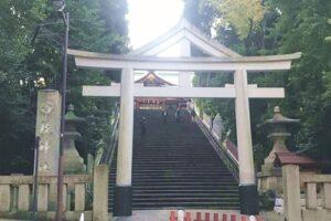 日枝神社(東京都千代田区)男坂(表参道)