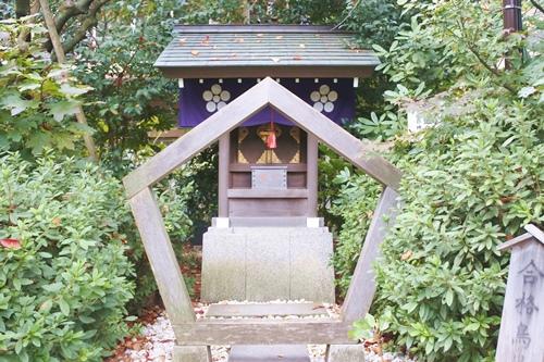 阿佐ヶ谷神明宮(東京都杉並区)合格鳥居(北野神社)