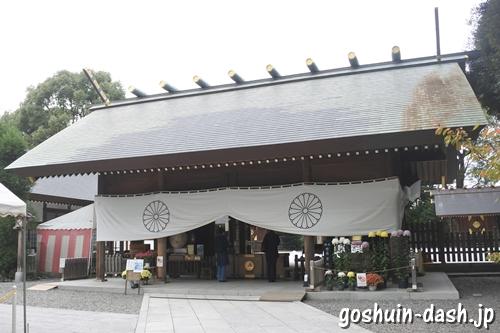 阿佐ヶ谷神明宮(東京都杉並区)拝殿