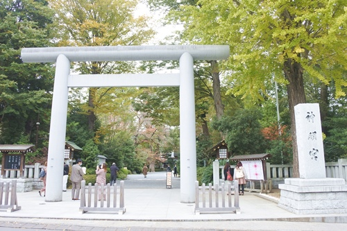 阿佐ヶ谷神明宮(東京都杉並区)大鳥居